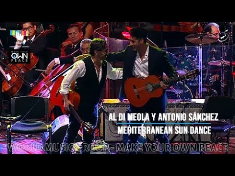 Al Di Meola y Antonio Sánchez - Mediterranean Sun Dance - PA25 - World Music Group