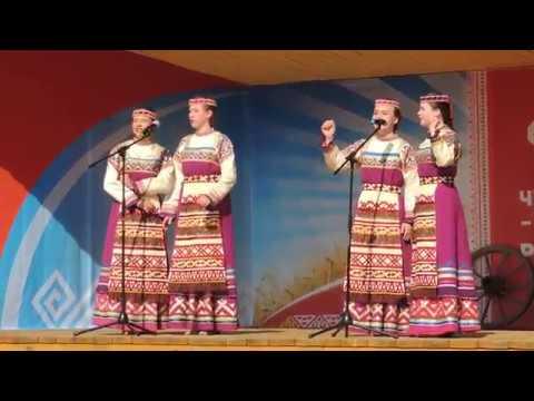2019г. Ансамбль Сигудэк (Коми) в Мариинском Посаде. ч.10