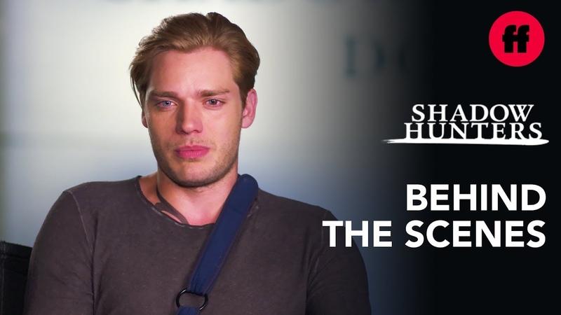 Shadowhunters Behind the Scenes | Season 3, Episode 13 Demonic Twinning Rune | Freeform