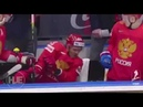 Овечкин спас Дадонова от шайбы, летящей ему в лицо ЧМ-2019