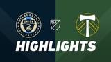 Philadelphia Union vs. Portland Timbers HIGHLIGHTS - May 25, 2019