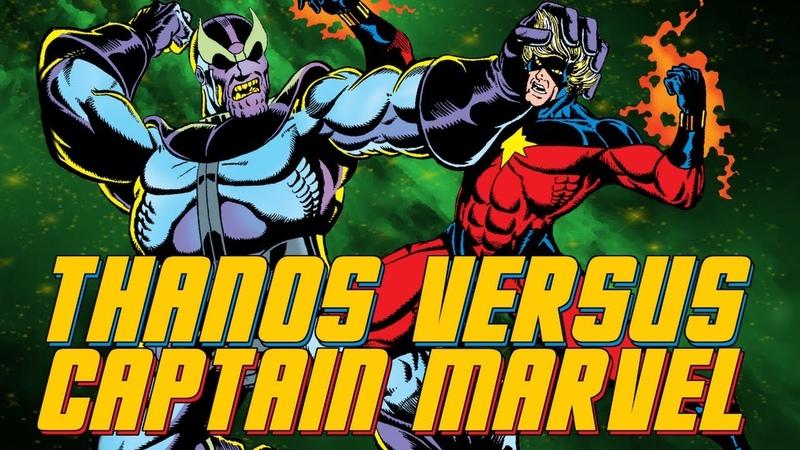 Thanos vs Captain Marvel The Avengers | PLUS: The Origin of Gamora
