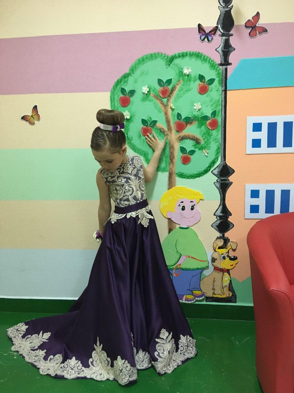 Выпускное платье на 6 лет IkSR4A61E1k