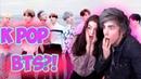 СМОТРЮ K POP СО СВОЕЙ ДЕВУШКОЙ!   МОЯ ДЕВУШКА ВПЕРВЫЕ СМОТРИТ K POP!   BTS MIC DROP Реакция   BTS