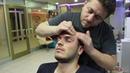ASMR Turkish Barber Face,Head and Body Massage 120 (16 Mins) 💆♂️👍👍💈
