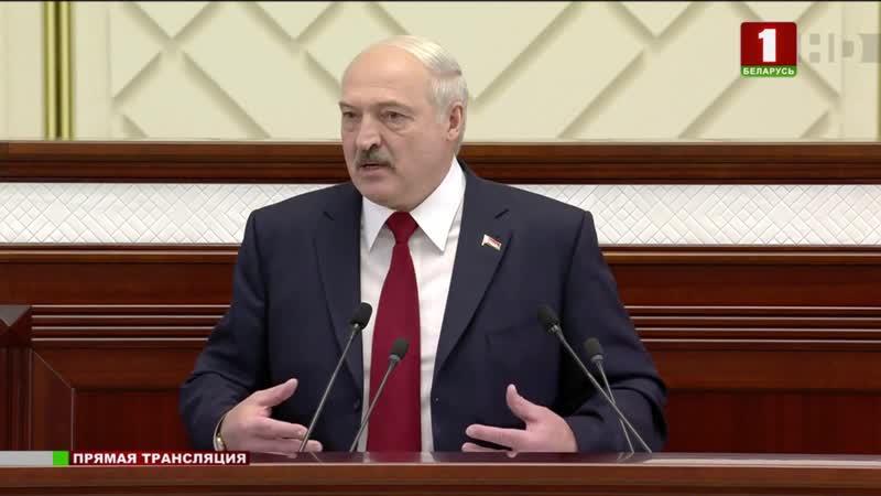Лукашэнка пра моладзь, якая будзе супрацьстаяць спробам знішчыць Беларусь