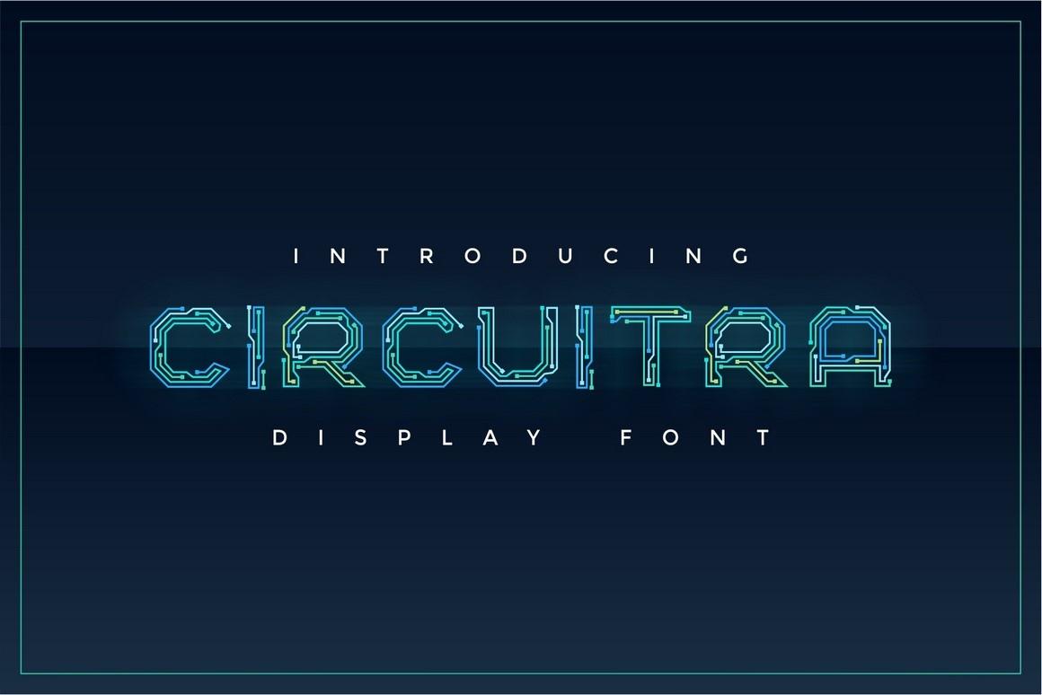 Шрифт - Circuitra