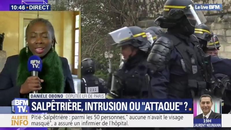 Pitié Salpêtrière Stop aux fake news