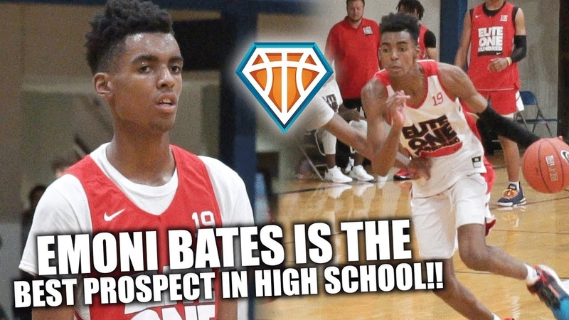 IS EMONI BATES THE BEST PROSPECT IN HIGH SCHOOL 'Baby KD' GOES OFF at Nike Elite100