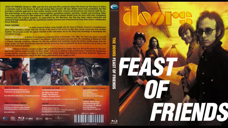 The Doors – Feast Of Friends / Encore / The Doors Are Open / The End 1967 - 1968 (2014) Blu-ray