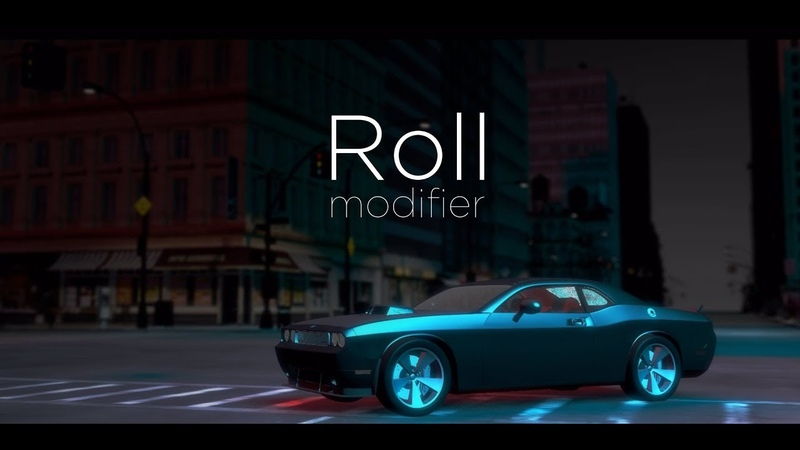 Roll | New modifier for 3dsmax