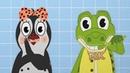 3 Чистим зубки Малыш чистит зубы Уроки от Пинги и Кроки Развивающие мультики