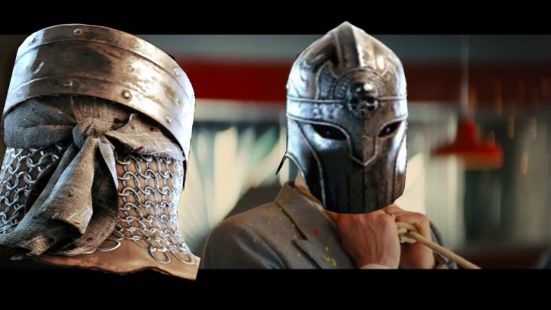 Kingsman golden circle final fight scene but it for honor