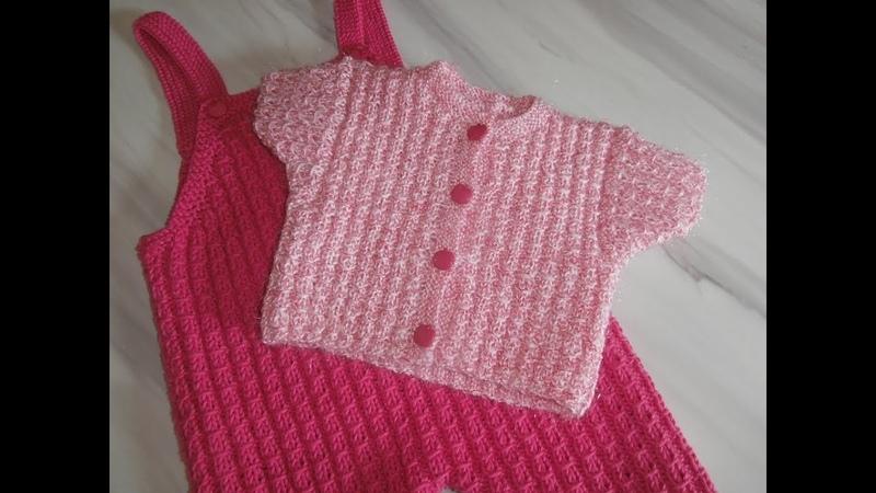 Tuto tricot layette : explications côtes 2/2 fantaisie .