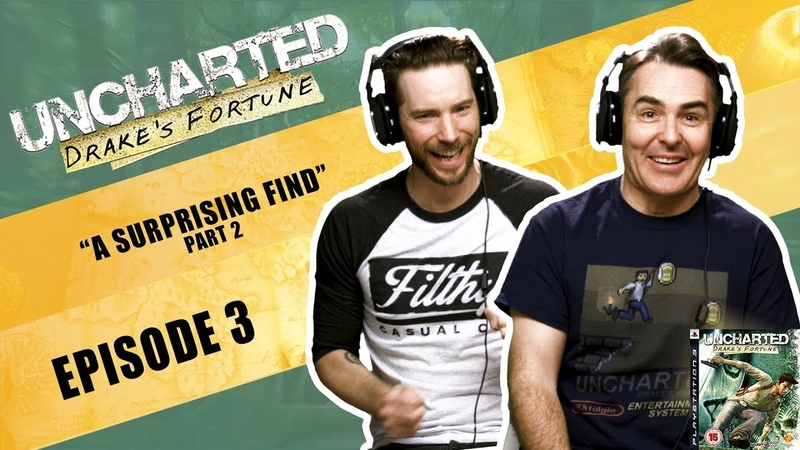 Uncharted Drake's Fortune The Definitive Playthrough Part 3 ft Nolan North Troy Baker