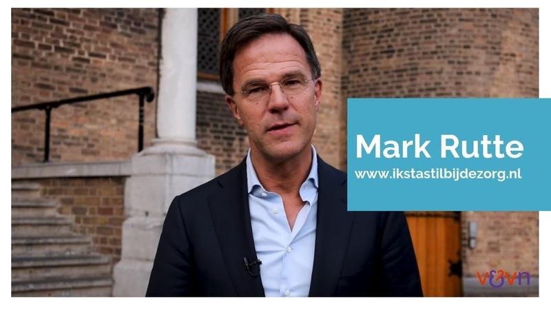 Mark Rutte staat stil bij de zorg - YouTube