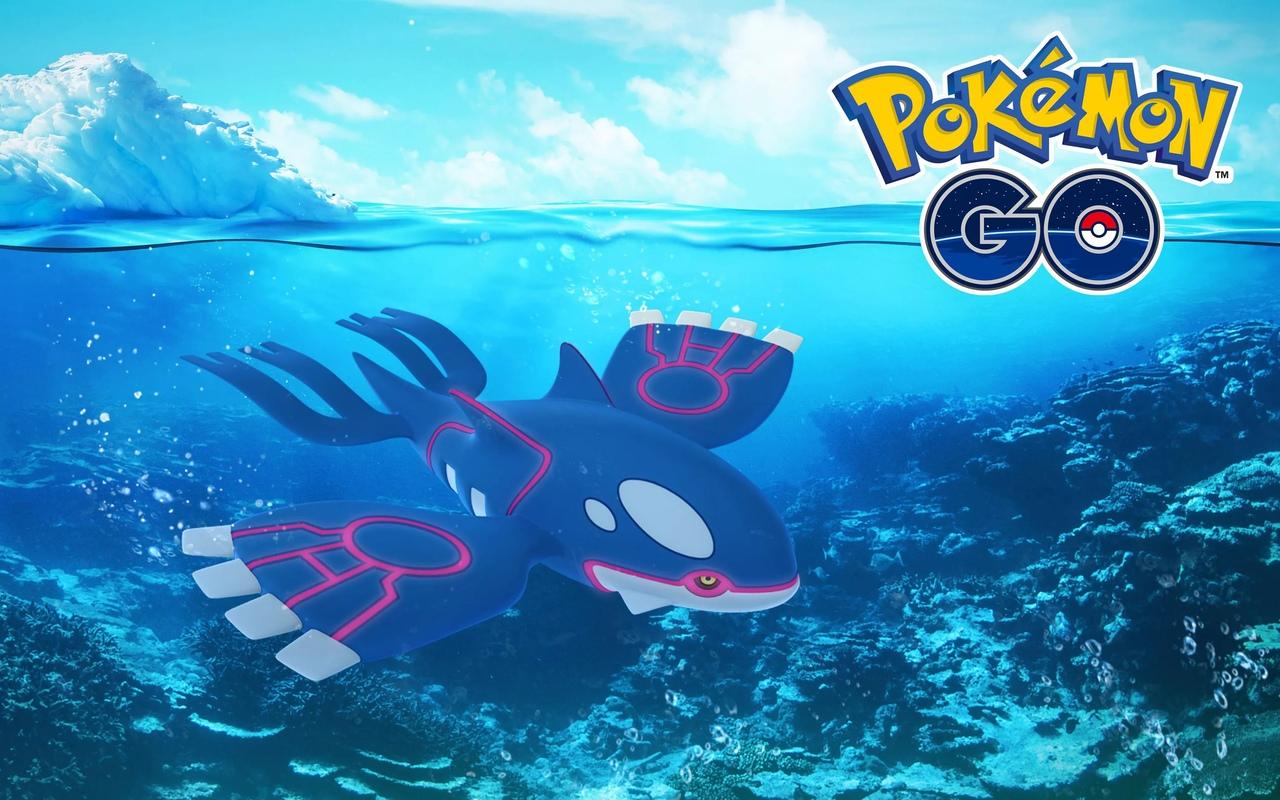 Kyogre в Pokemon Go