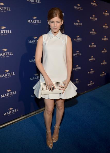 Кейт Мара в белом