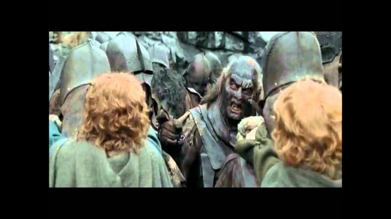 Le Seigneur des Anneaux 2 [version longue] Uglùk, Mauhur et les autres Uruk Hai rencontre des Orcs