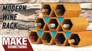 How to Make a Wine Rack Woodworking Project