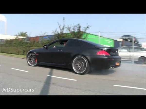 BMW M6 V10 w/ Eisenmann Exhaust - Drift, Revs Accelerations..EPIC SOUND!