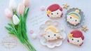 CINDERELLA, ARIEL RAPUNZEL - How to make DISNEY PRINCESS COOKIES (Tsum Tsum)
