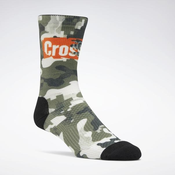 Носки Reebok CrossFit® Printed Crew