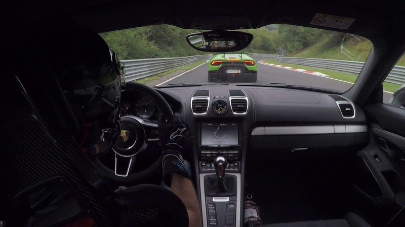 [Nordschleife] Porsche GT4 Lamborghini Huracan Performante