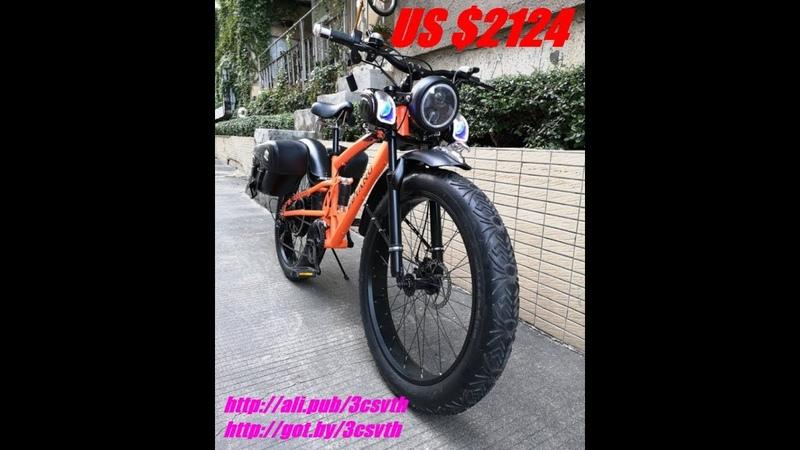 Велосипед Электробайк, HRTC FAT 9, 10 Дюймов колесо, 31-60 км в час, 2019