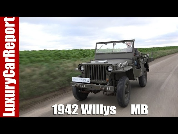 1942 Willys MB military jeep Detailed Walkaround Review and Test Drive
