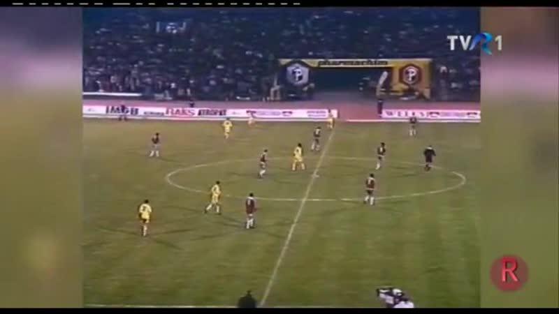 Отборочный матч чемпионата Европы 1992. Болгария - Румыния (обзор)