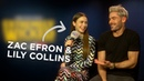 Zac Efron & Lily Collins Talk Ted Bundy Movie, Extremely Wicked... 🍿 | FULL INTERVIEW | Capital