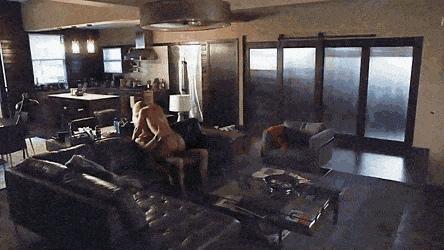 Claire Danes sex scene in Homeland
