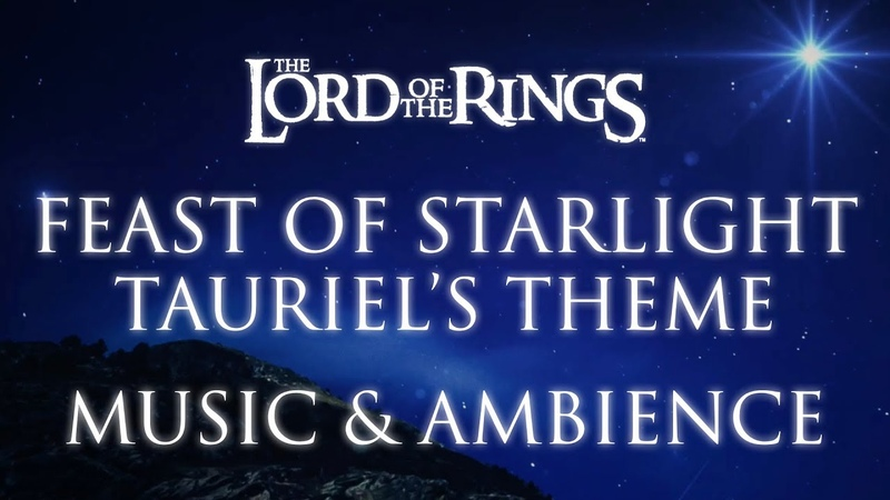 Lord of the Rings Music Ambience | Feast of Starlight - Tauriel's Theme from The Hobbit