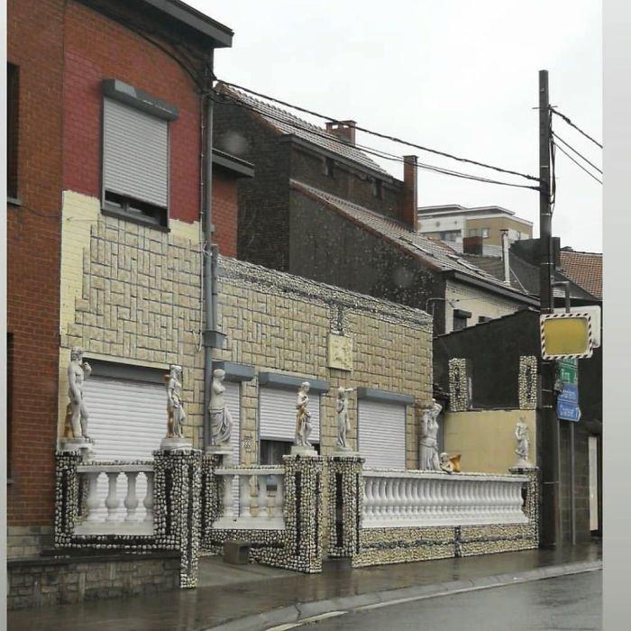 Странности бельгийской архитектуры