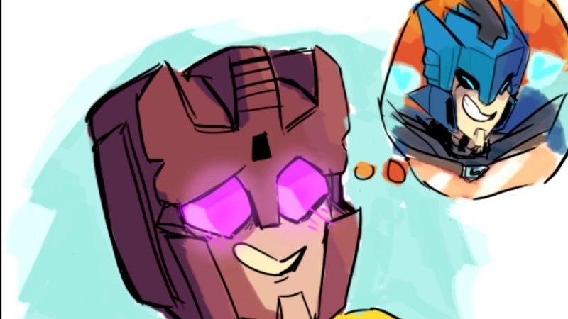 Nothing But Death Swindle x Blurr Transformers IDW