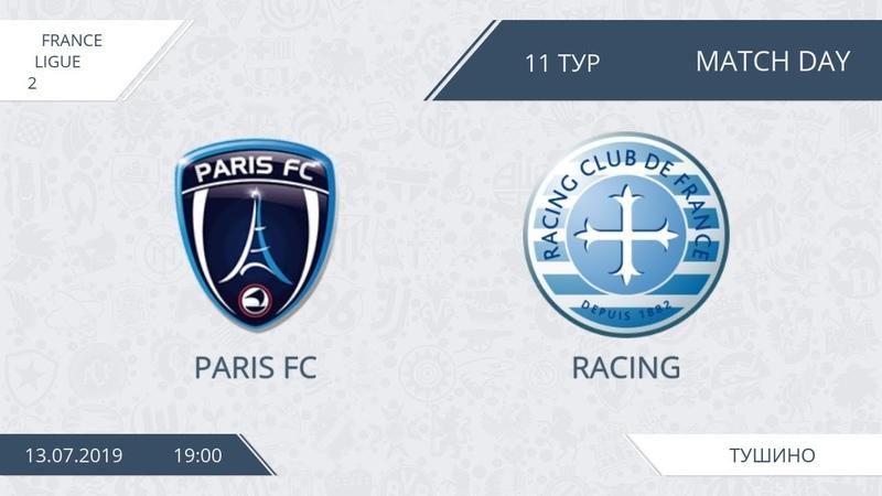 AFL19. France. Ligue 2. Day 11. Paris FC - Racing