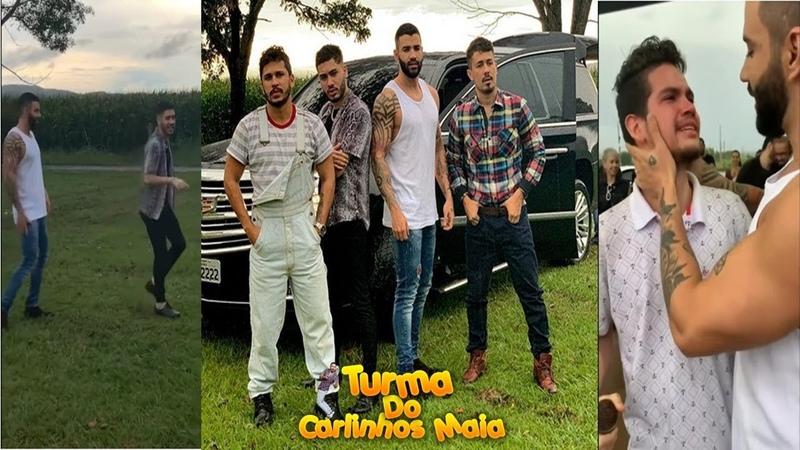 Carlinhos Maia mostra bastidores do clipe de Kevinho fã do Gustavo Lima