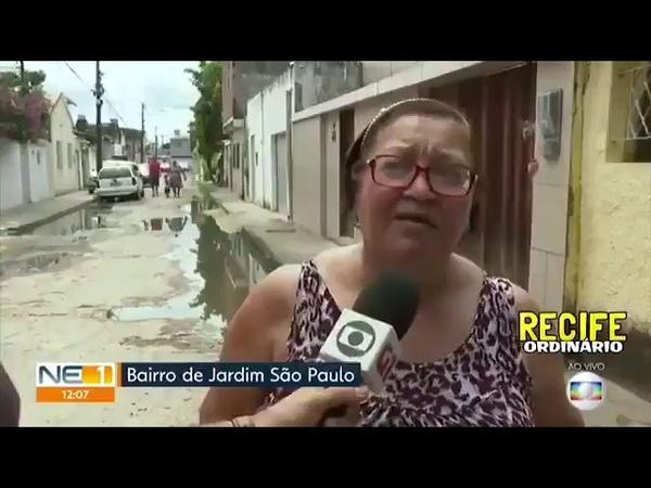 O dia que a reportagem ao vivo teve que ser interrompida por causa da mulher que fechou o portão no