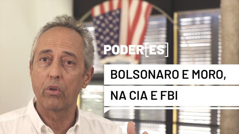 Bolsonaro e Moro vão à CIA/FBI. Brasil entrega Alcântara e promete biodiversidade. Embraer já foi.