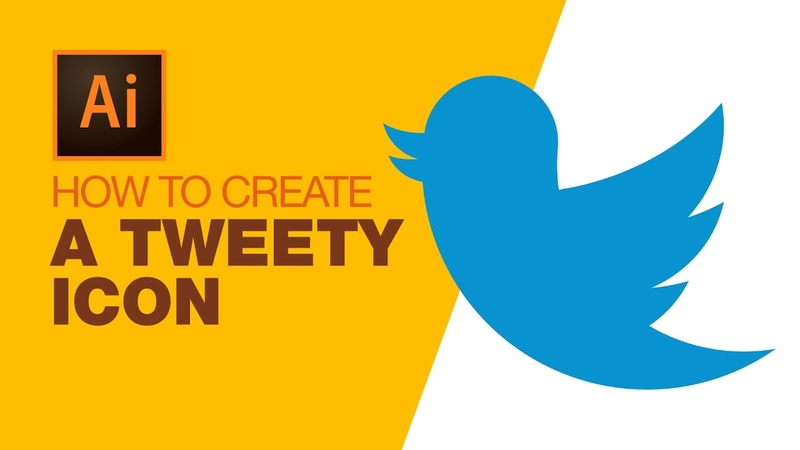 How to create A Tweety Icon in Ai Beginners Tut