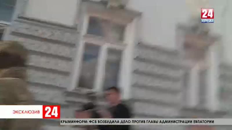 Эксклюзив глава администрации Евпатории Андрей Филонов задержан на два дня и готовится защищаться