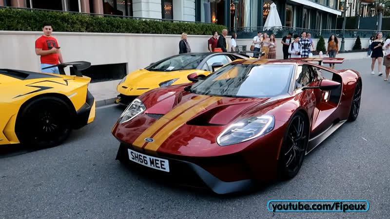 Shmee150 1ère FORD GT que je vois rouler à Monaco !