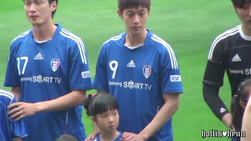 2011.07.02 Kim Hyun Joong FC MEN VS Miracle-1 [Fancam]