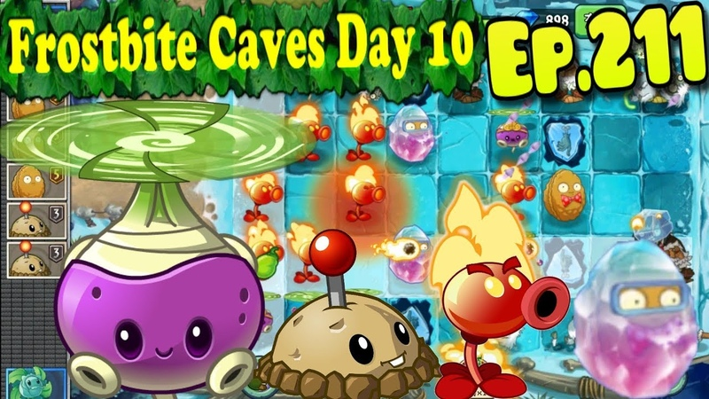 Plants vs. Zombies 2 (China) - Special Delivery level - Frostbite Caves Day 10 (Ep.211)