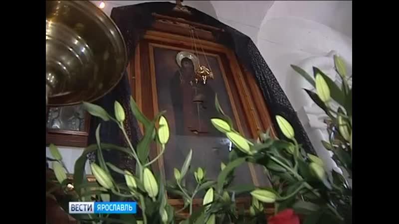 Вандалы изуродовали икону в монастыре Углича
