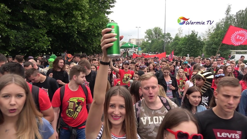 2018 05 17 Olsztyn Kortowiada parada warmia.tv