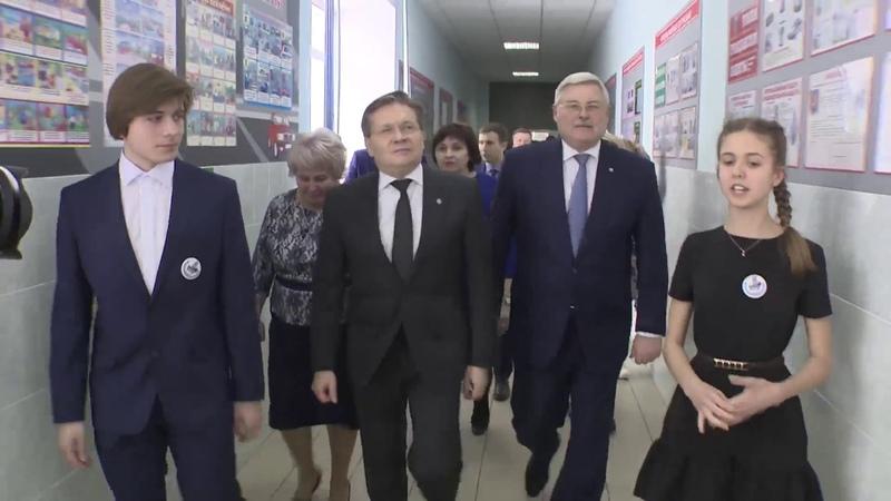 Визит главы Росатома Лихачева в Северск