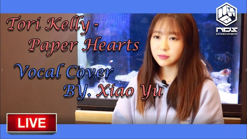 Tori Kelly - Paper Hearts LIVE Cover by NDS 샤오위