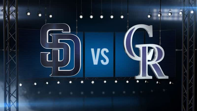 Padres plate 4 in 9th to shock Rox, 14-13 ¦ Padres-Rockies Game Highlights 6_⁄16_⁄19